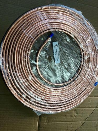 tubo de cobre flexible 3/8 refrigeración tubo líder 15.2 m