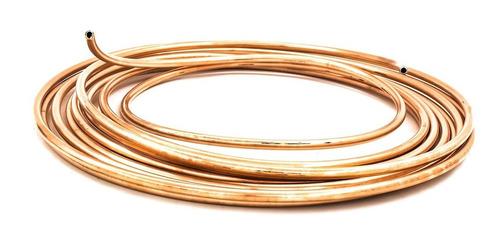 tubo de cobre flexible 6 mts 1/2 usos gral profesional