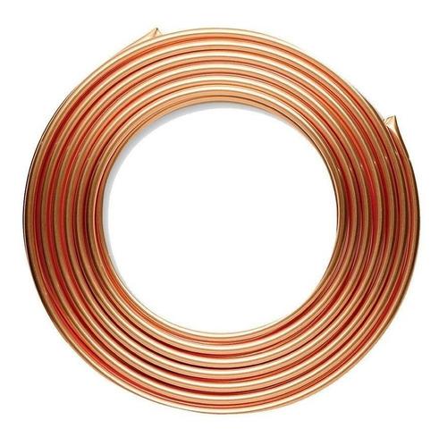 tubo de cobre flexible 6 mts ¼ 1/4 usos gral profesional
