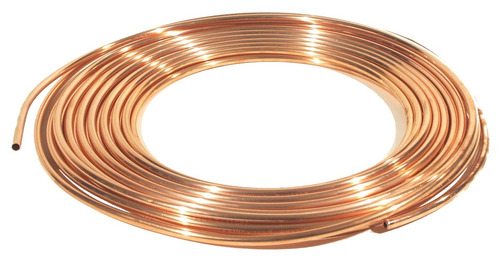 tubo de cobre flexible 6 mts 3/16 usos generales profesional