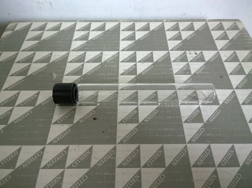 tubo  de  ensayo   con tapa  ( rosca ) 145 mm x 18 mm