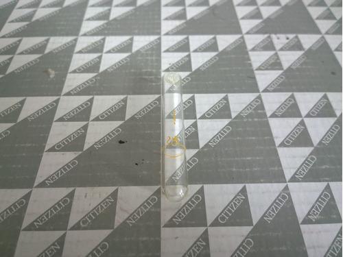 tubo de ensayo marca pyrex graduado a 2 ml 12 x 75 mm