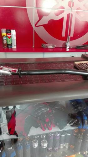 tubo de escape de best 125 suzuki cromado