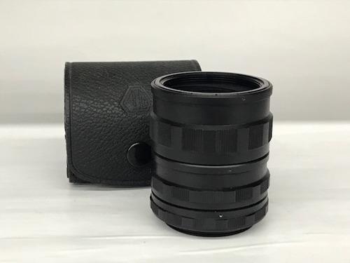 tubo de extensão pentax m42(rosca)3 aneis.