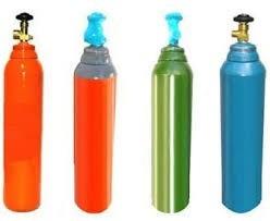 tubo de gas de argon de 1  metro cubico para soldadoras