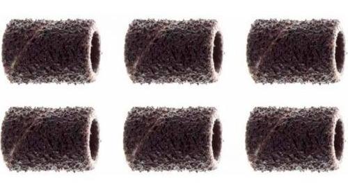 tubo de lija grano dremel 431 1/4 grano 60 6 unidades