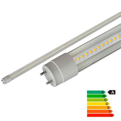 tubo de luz led t8 18w 120cms. pack x 12 unidades