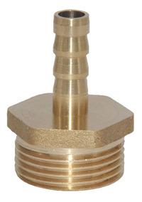 """Codo De Latón 12mm Manguera Cola 1//4/"""" Adaptador de conector macho BSP rosca de montaje"""