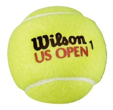 tubo de pelotas de tenis wilson us open x 4 - olivos