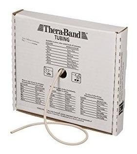 tubo de resistencia profesional de látex theraband, 25 pies