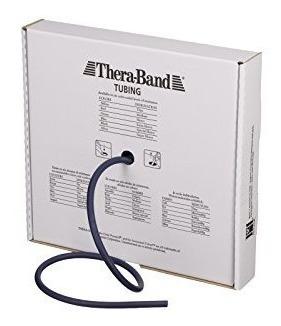 tubo de resistencia profesional theraband , 25 pies, azul