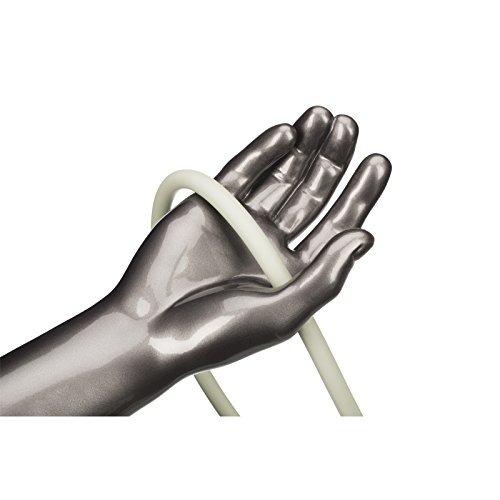 tubo de resistencia theraband 25 pies, color gris