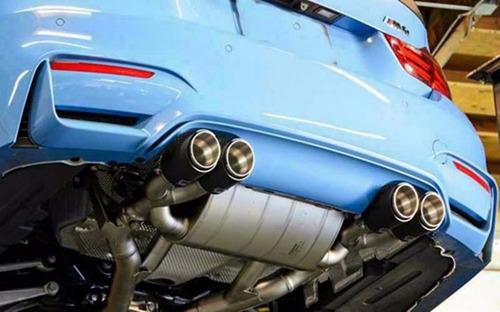tubo escape akrapovic original carro auto bmw m3 m4 m5 m6