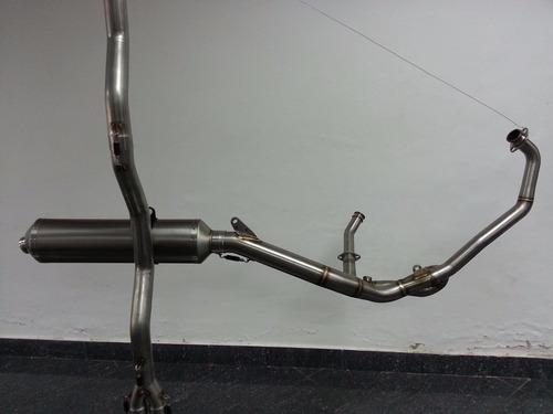 tubo escape arrow v strom 650cc nuevo