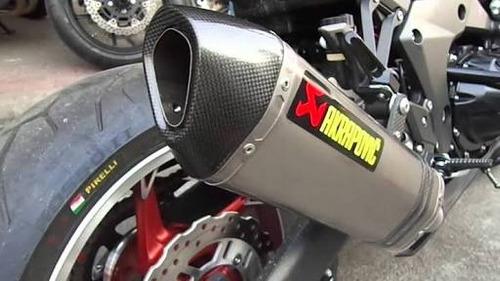 tubo escape moto