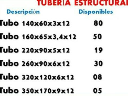 tubo estructural 100x100 100x100 5.20 mtrs oferta 3mm