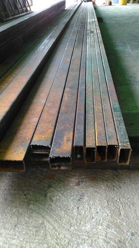 tubo estructural 80x40 6 y 12 mts 1,1-2.25-3.00 mm espesor