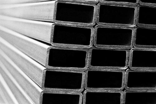 tubo estructural rectangular 50 x 40 x 1,6mm - 6 mts.