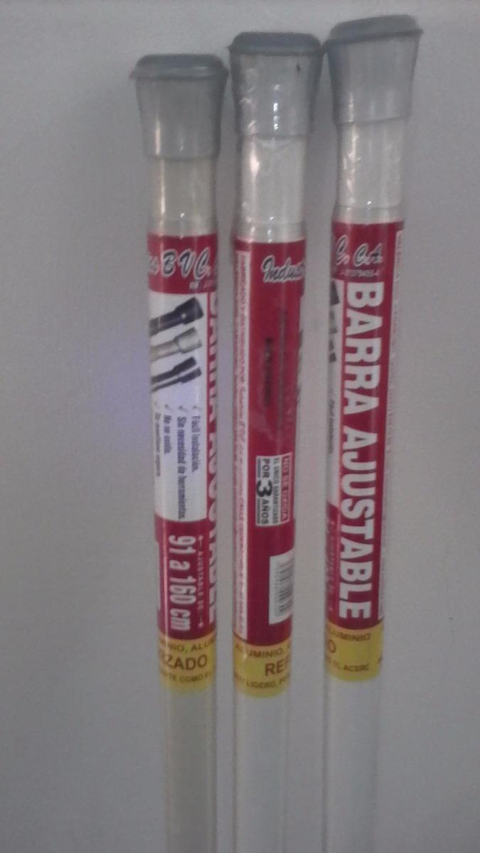 Tubo extensible para cortina de ba o barra ajustable - Barras de cortinas extensibles ...
