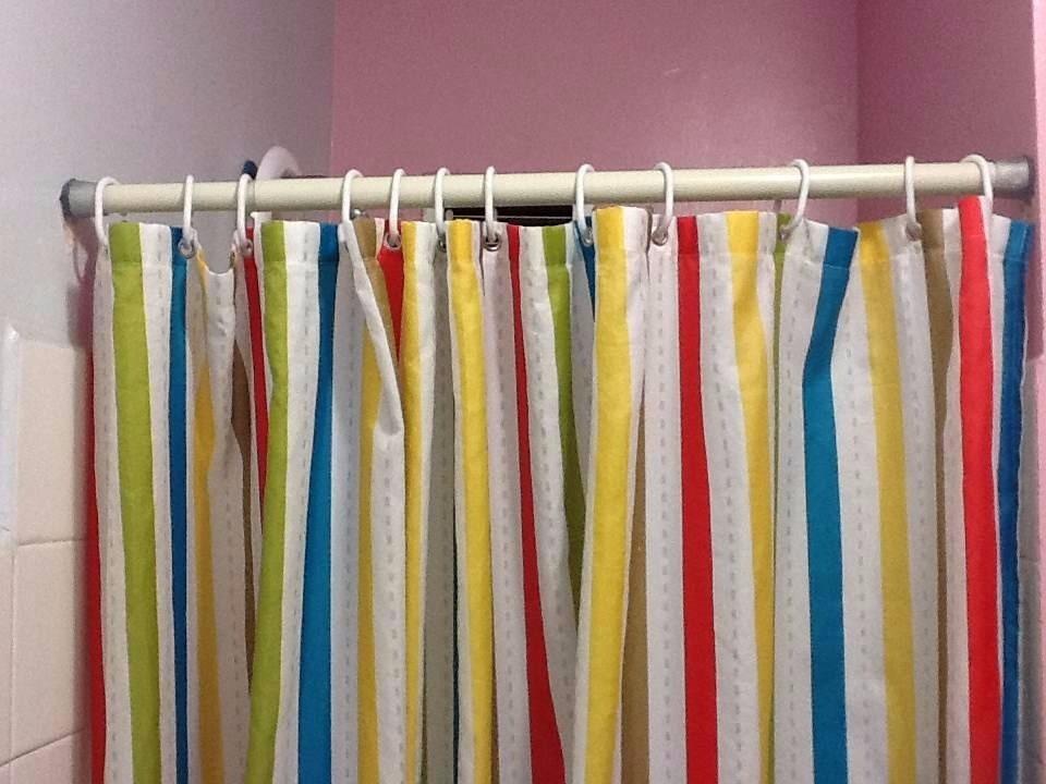 Tubo extensible para cortina de ba o barra ajustable bs en mercado libre - Barra cortina bano ...