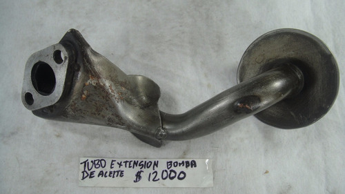 tubo extension bomba aceite ford festiva