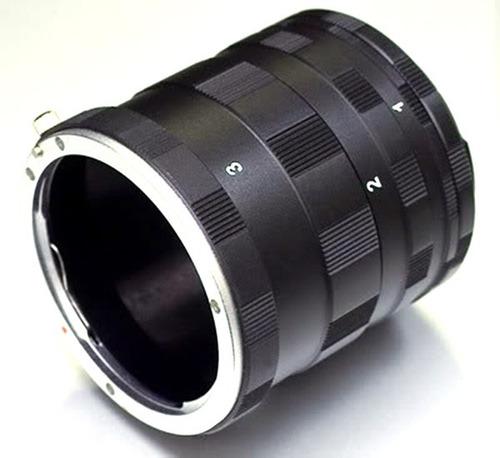 tubo extension macro para nikon