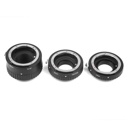 tubo extensor macro nikon af de alumínio lentes nikkor