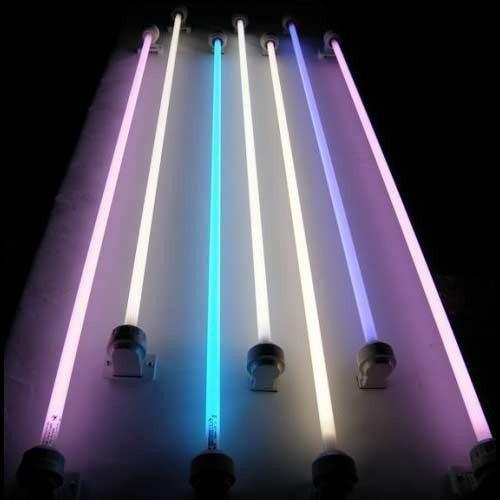 Tubo fluorescente luz colores vararios 36w t 8 osran delca for Porta tubos fluorescentes