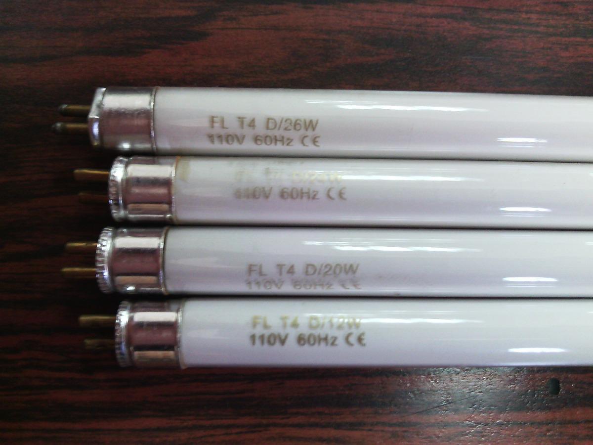 Tubo fluorescente t4 20w bombillo delgado slim bs 31 - Medidas de tubos de pvc ...