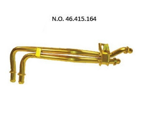 tubo fluxo agua tempra  tipo sw 2.0 mpi 8v c/ar 46415164