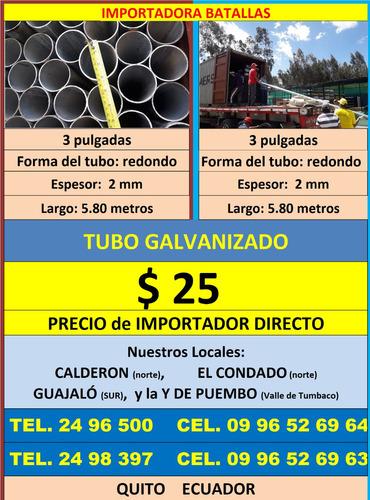 tubo galvanizado 3p teja duelas piso flotante policarbonat t