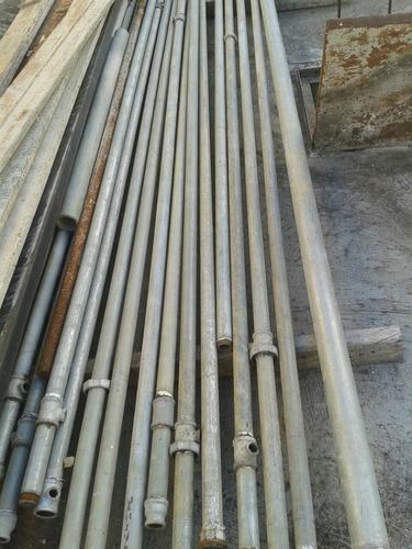 tubo garbanizado 1 1/4  astm x metro