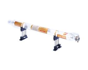 SenTECH 50W CO2 Tubo L/áser de Vidrio 800mm de Longitud Dia 50mm 10.6/μm para el Corte de L/áser y la m/águina de Grabado o Corte