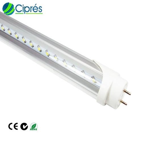 tubo led 18 watts 2520 lumenes t8 1200mm g13 140lmw cipres