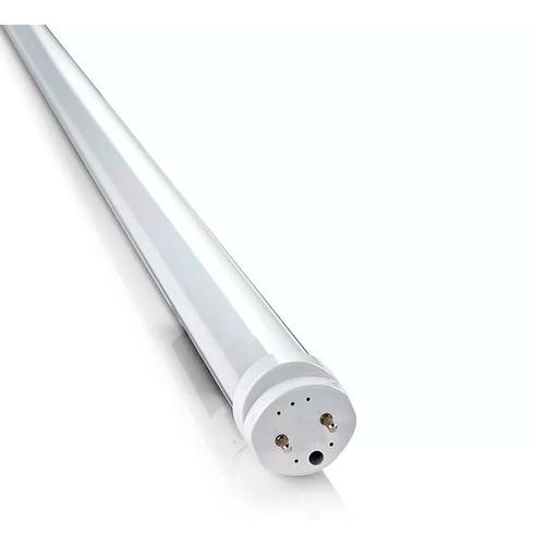 tubo led 40w = 105w luz color fría 220v 2,40 mts 240 cm