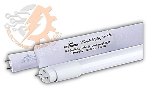 tubo led t8 9w 60 cm hammer luz blanca