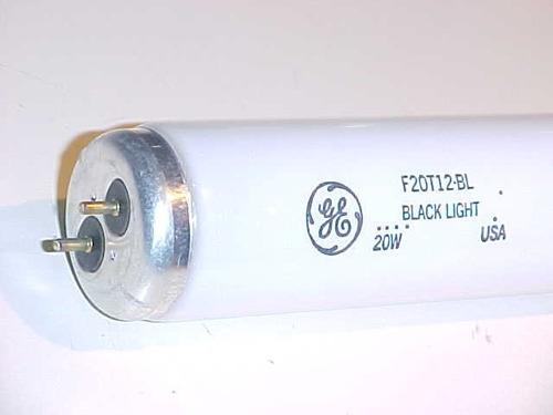 tubo luz u.v. 20 w atrae insecto f 20 bl g.e. usa dj garmath