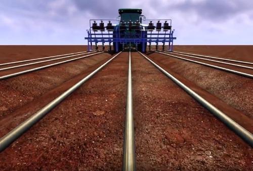 tubo mang gotejamento irrigação 1000 m furo 30x30 streamline