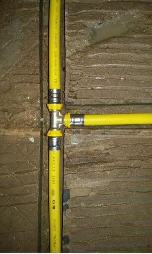 tubo multicamadas 16mm uv emmeti para tubulação de gás