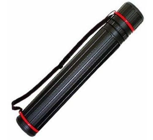 tubo para mapa sinoart porta mapa 8,5 diam. 60-110cm preto