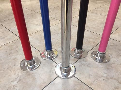 tubo para pole dance giratorio de excelente calidad 2.70max.