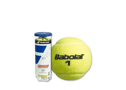 tubo pelotas babolat championship - tenis padel  - local