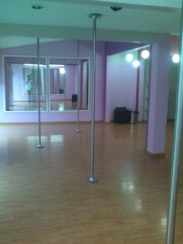 tubo pole dance fijo alturas mayores a 2.70 a 3.15 metros