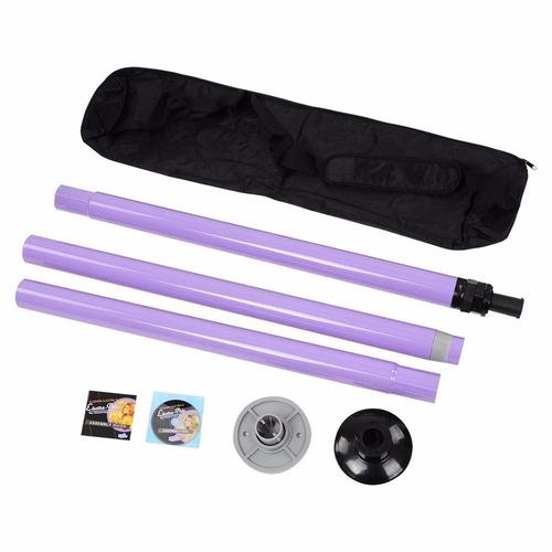 tubo portatil para baile pole dance ejercicio sensual tornea
