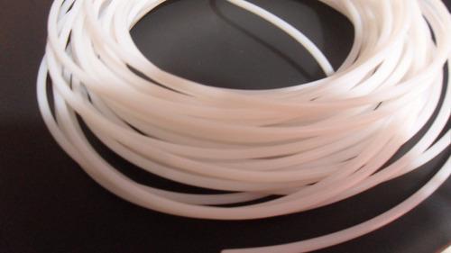 tubo ptfe para filamento de 1.75mm prusa reprap impresora 3d