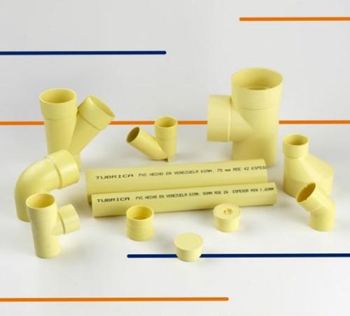 tubo pvc aguas negras 50mm (2 pulgada) x 3 metros (pack)