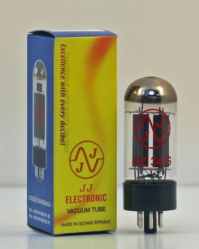 tubo rectificador gz34 / 5ar4 jj tesla ( nuevo )