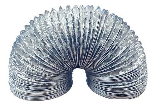 tubo sanfonado flexível fogatti para coifa slim alumínio 1m