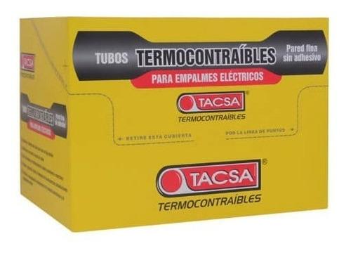 tubo termocontraible tacsa 6,4mm bobina 10mts