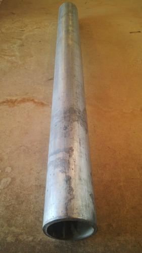tubo tuberia galvanizada de 3 pulgadas x un mts sin rosca.